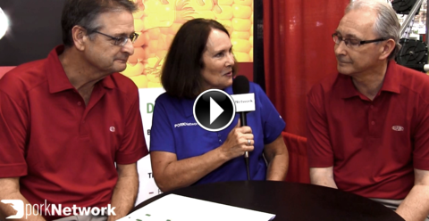 Dave Hall and Gary Patridge discuss Danisco Animal Nutrition's enzyme and betaine innovations at World Pork 2014 with Pork Network.